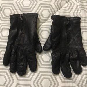 Other - Men's leather gloves black sz XXL